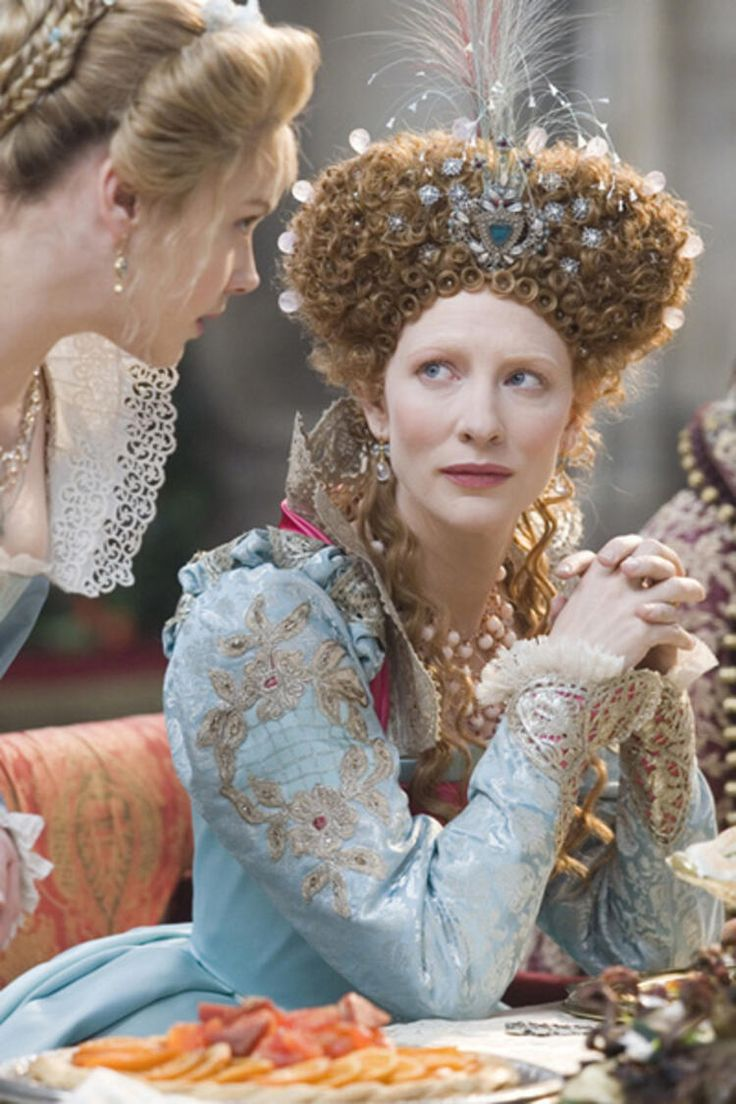 Tudor Costumes, Period Costumes, Movie Costumes, Cool Costumes, Elizabeth I, Elizabeth The Golden Age, Elizabethan Fashion, Elizabethan Era, Cate Blanchett