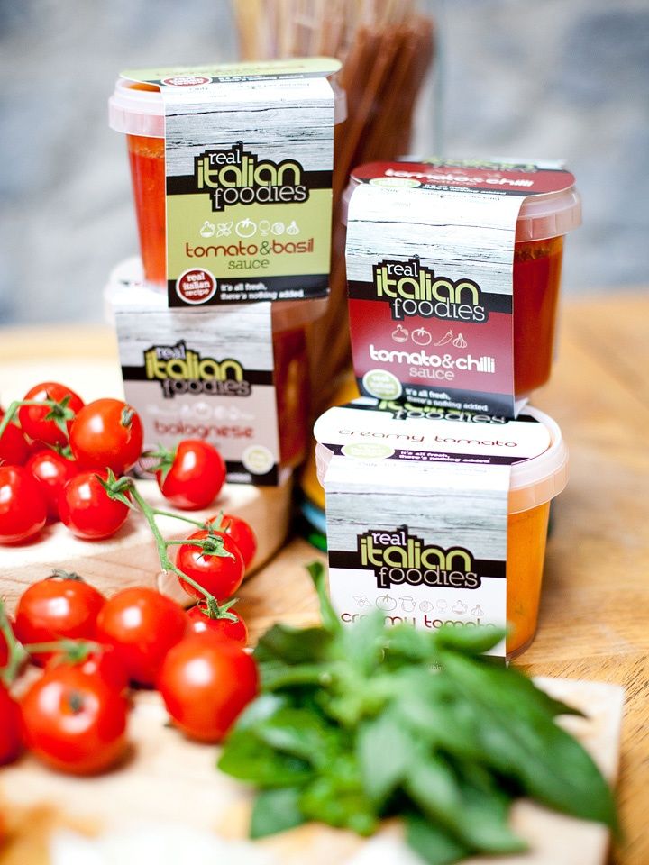 Wonderful Real Italian Foodies pasta sauces