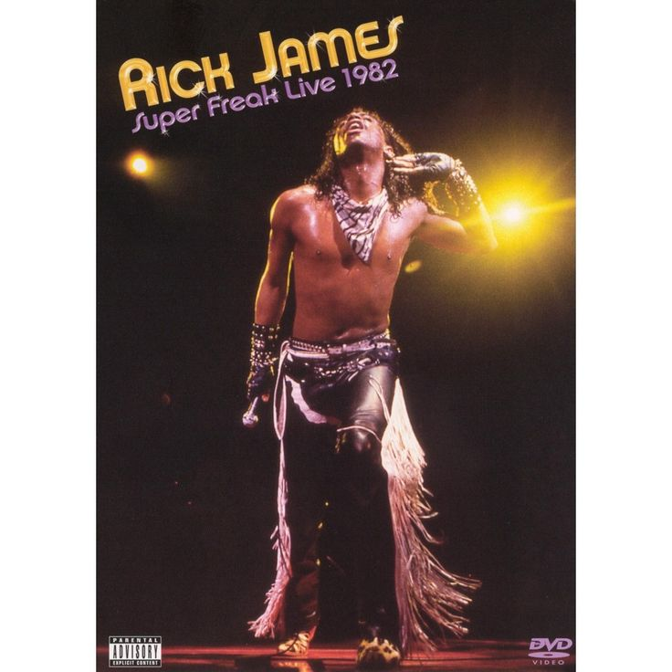Rick James Super Freak Live 1982