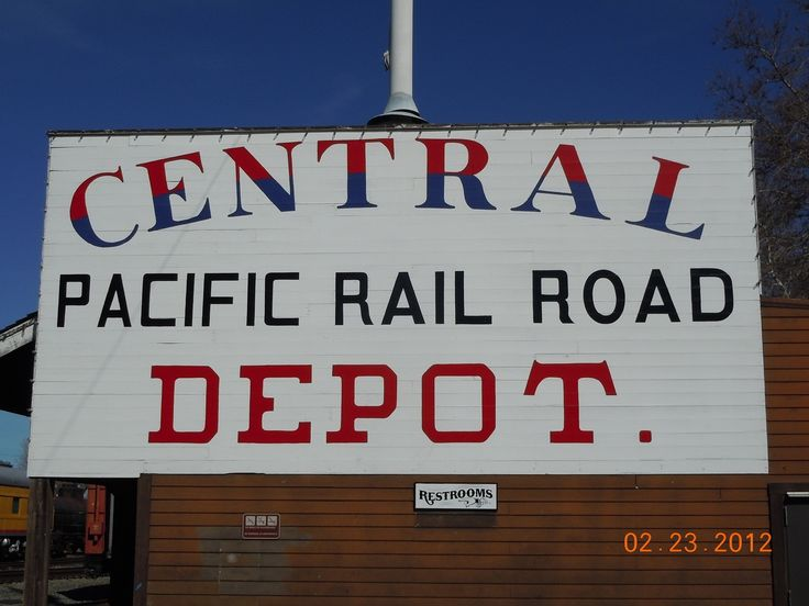 The Central Pacific Railroad / Railroad Museums | Western Trips