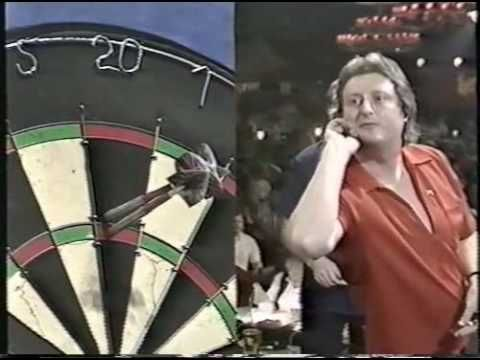 John Lowe vs Eric Bristow - 1987 World Finals Part 1 - YouTube