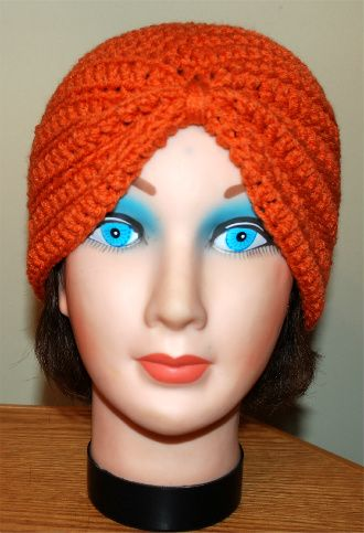 Crochet Turban Hat    If you tell others about my work, please only link back to my blog, but don't copy my patterns to your site. Also you can sell anything you make from my patterns, but don't sell the free pattern. Thank you! My Crochet You Tube