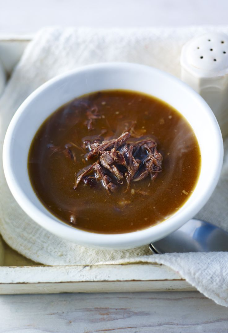Rich and rib-sticking, this oxtail soup will warm you up right down to your toes.