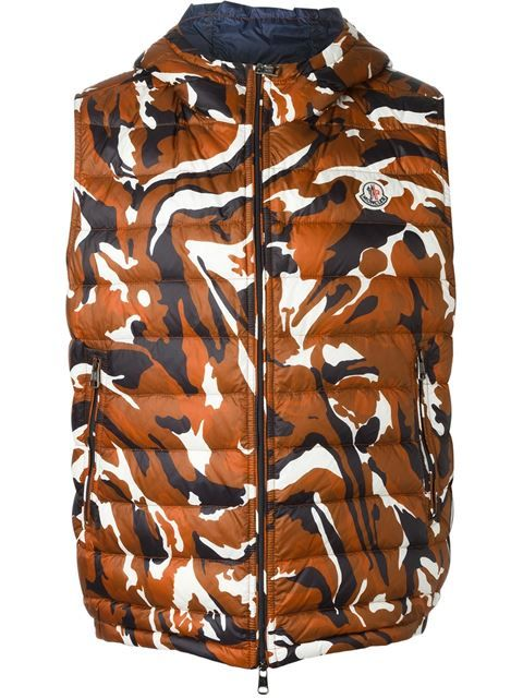 MONCLER 'Patrick' Gilet. #moncler #cloth #gilet