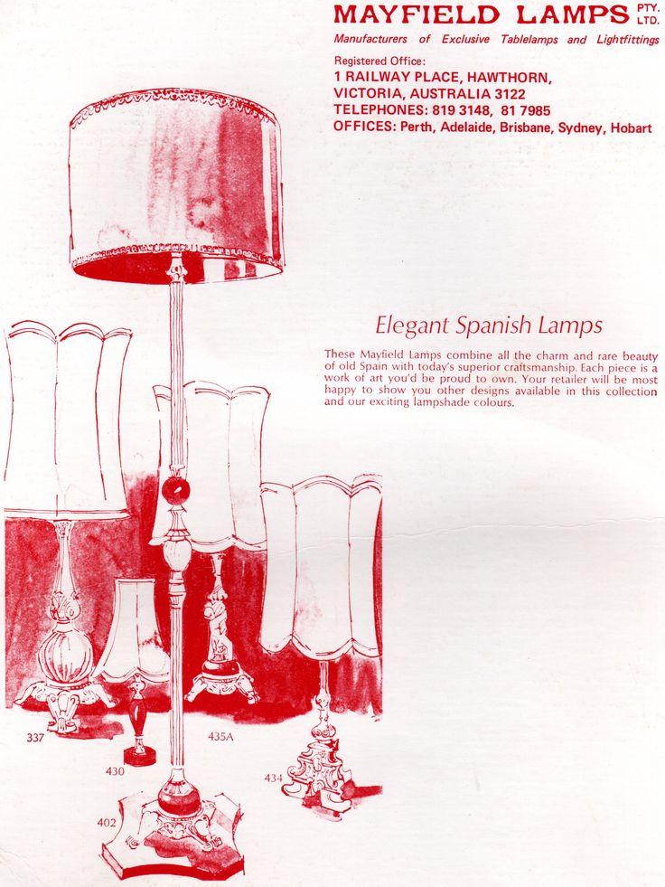 1971 || Mayfield Advert