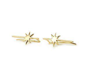 Star bar earrings, £35 elkinlondon.com