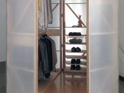 Tuberoom Portable Walk-In Closet by Tom Villa