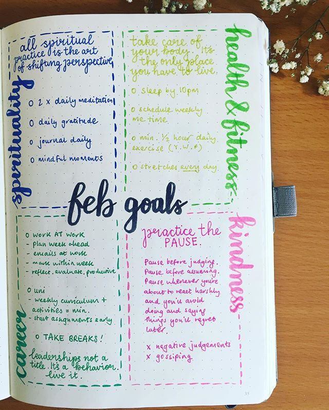 best 25 goals planner ideas on pinterest bullet journal goals weekly goals and page a day diary. Black Bedroom Furniture Sets. Home Design Ideas