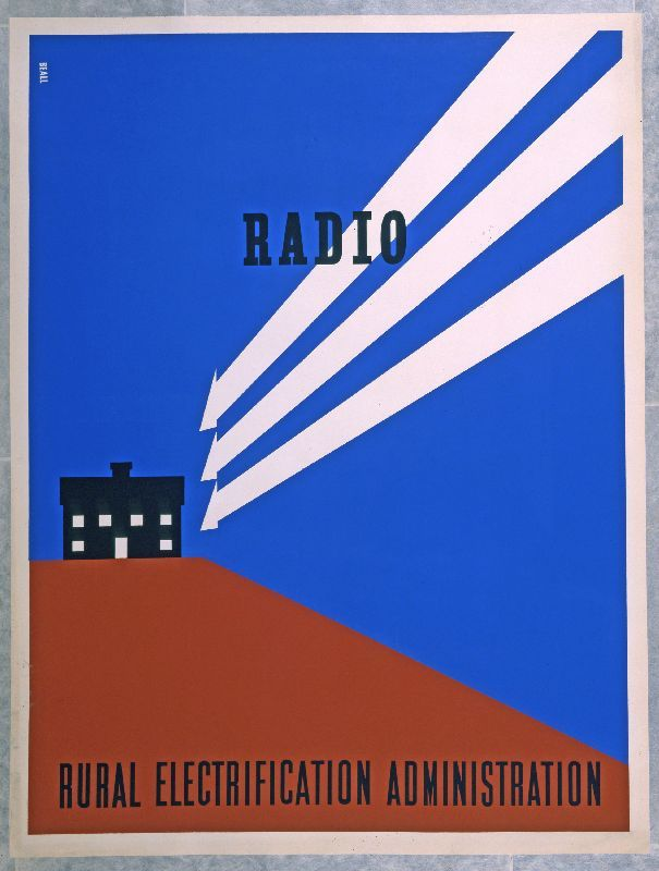 Radio, designed by Lester Beall, 1937