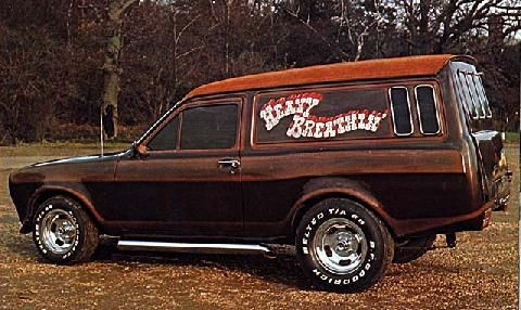 Ford Escort Custom Van.