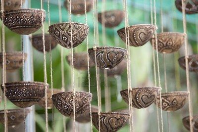 Crafts Of Kerala Prepared By Hardcovers Of Coconut Art