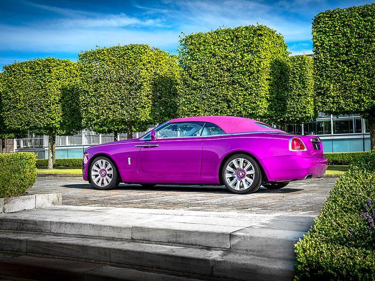 Rolls-Royce 'Dawn in Fuxia' | Antik Porta - Luxus & Régiségek