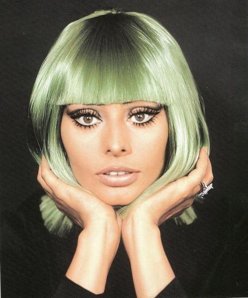 Tazio Secchiaroli :: Sophia Loren with wig, 1970