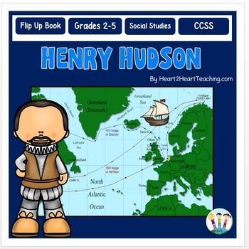 Early Explorers: Henry Hudson Complete Unit with Articles ...
