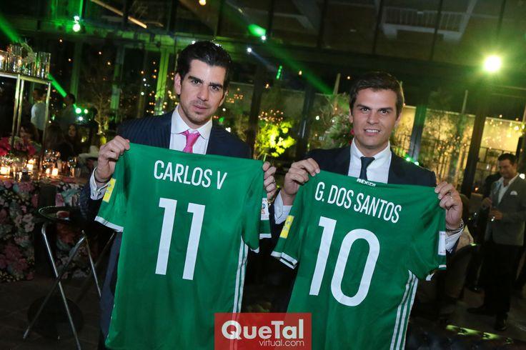 Alejandro y Juan Carlos Valladares.