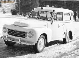 Volvo ambulance