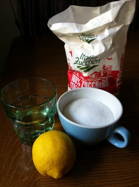 Ricetta della ceretta di zucchero (sugaring)