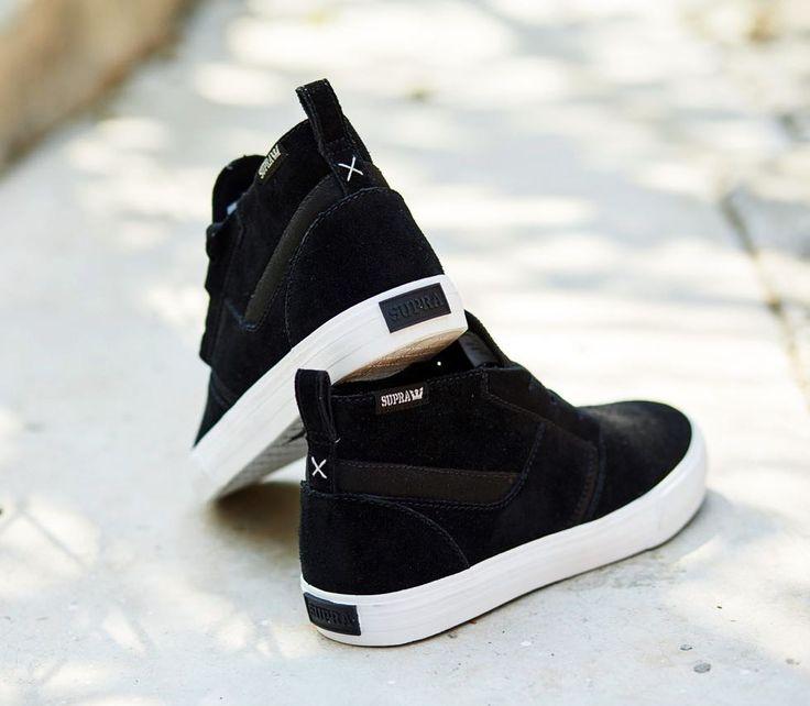 Supra Footwear, Supra Kensington Black/White