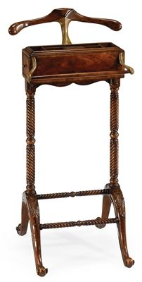 Antique Mahogany Clothing Valet Stand-45. Our Price: $940.00