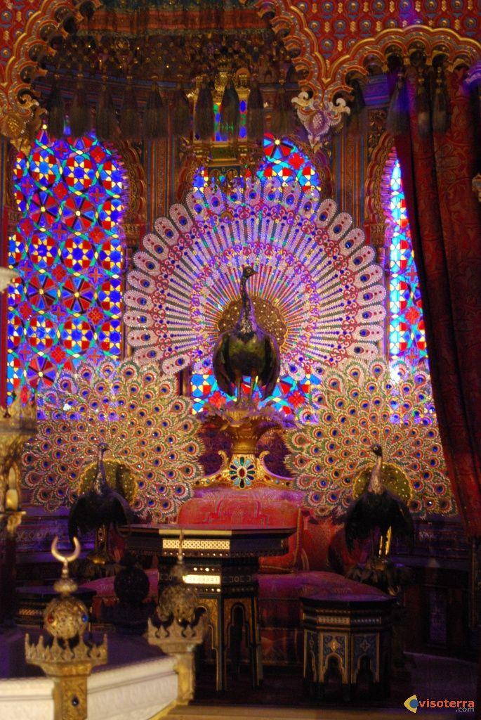 Le trône aux paons de Louis II de Bavière