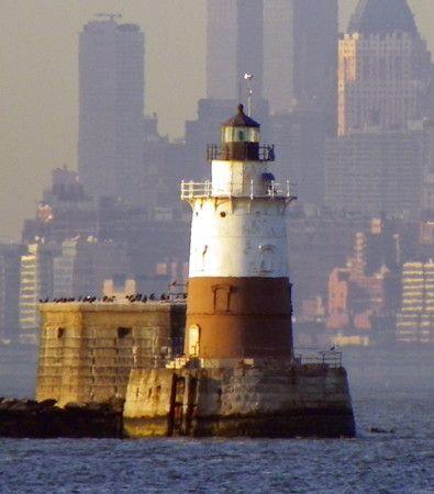 *m. Robbin's Reef Light, Upper New York Bay, Downstate New York