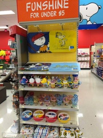 Summer 2015: Peanuts Merchandise at Target.