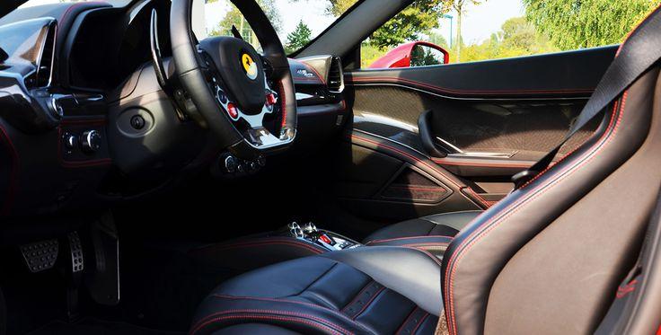 4 Runden Renntaxi Ferrari 458 Italia auf dem Spreewaldring #Sportwagen #motor #auto