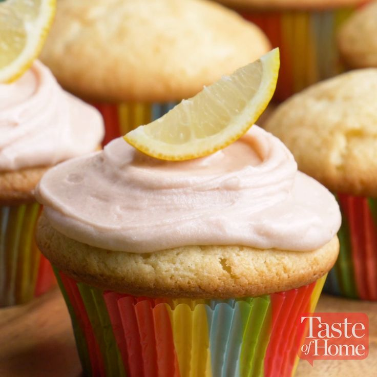 Arnold Palmer Cupcakes Recipe