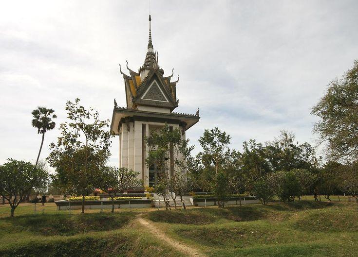 Choeung Ek in Phnom Penh.
