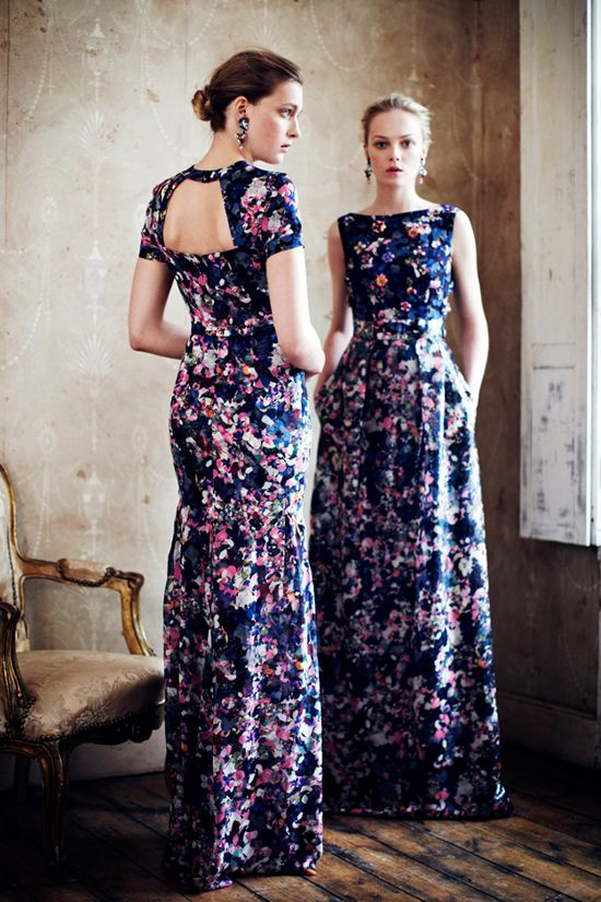 Erdem Resort 2013 Collection | Tom & Lorenzo. Gorgeous Dresses
