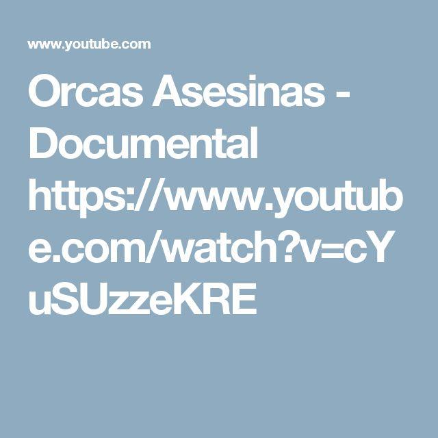 Orcas Asesinas - Documental https://www.youtube.com/watch?v=cYuSUzzeKRE