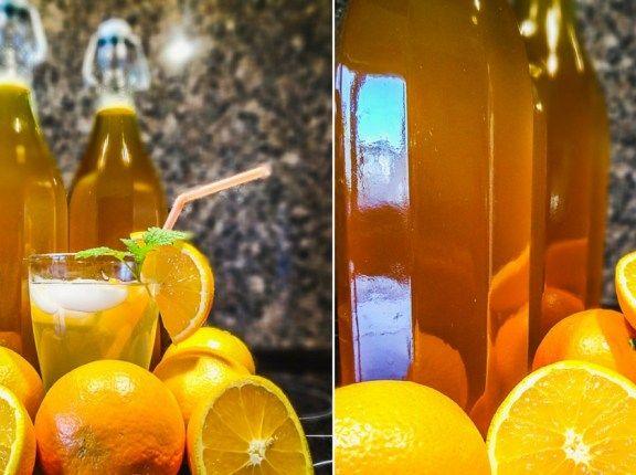 Domácí pomerančový sirup ze 4 ingrediencí
