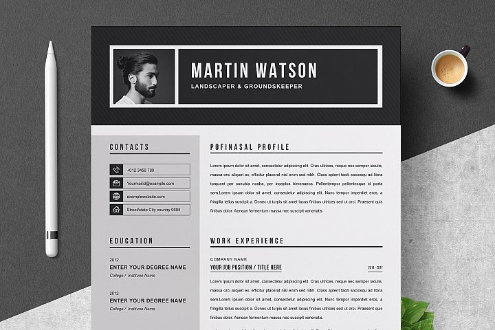 Professional Resume Template In 2020 Resume Template Professional Resume Template Professional Resume