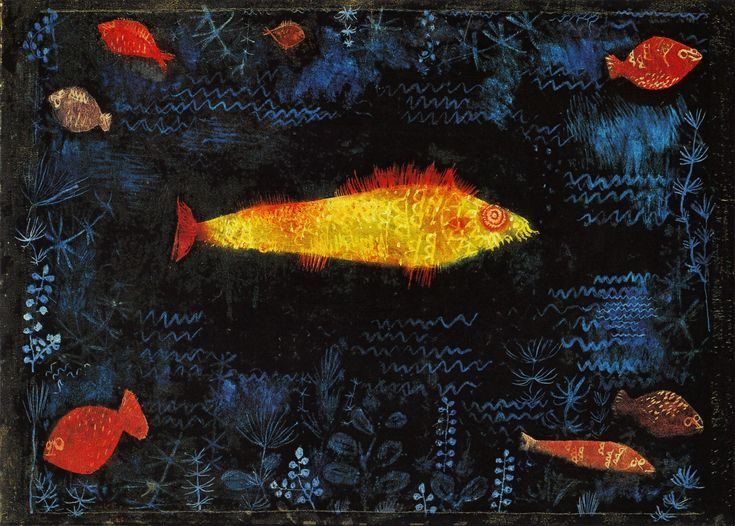 Paul Klee (1879-1940), Golden Fish, 1925, oil and watercolour on paper