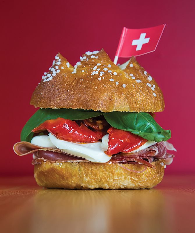 The Italian BrideSandwich atSwiss 2 Go