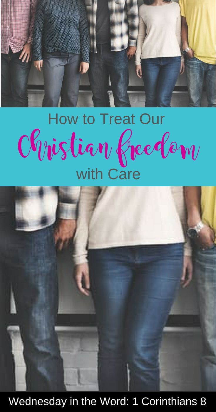 How to Treat Our Christian Freedom with Care | Bible study/devotional of 1 Corinthians 8 | Wednesday in the Word | Scripture Confident Living