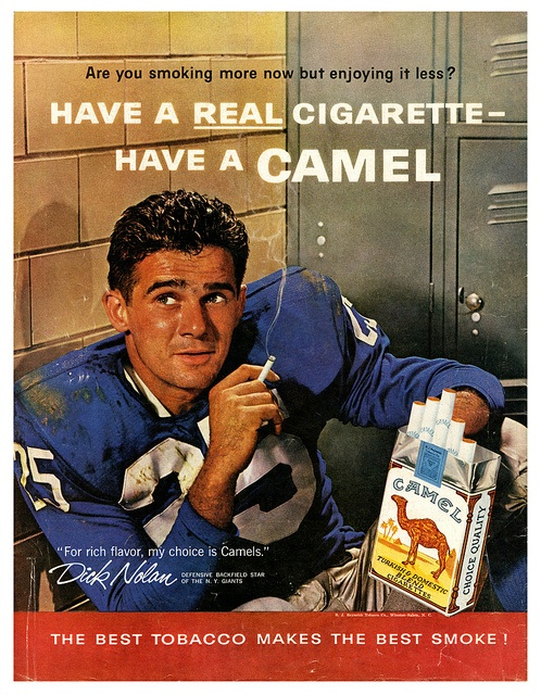 Although I know it's wroing...these are nostalgic for me...because this is what my dad smoked...Camel Cigarettes