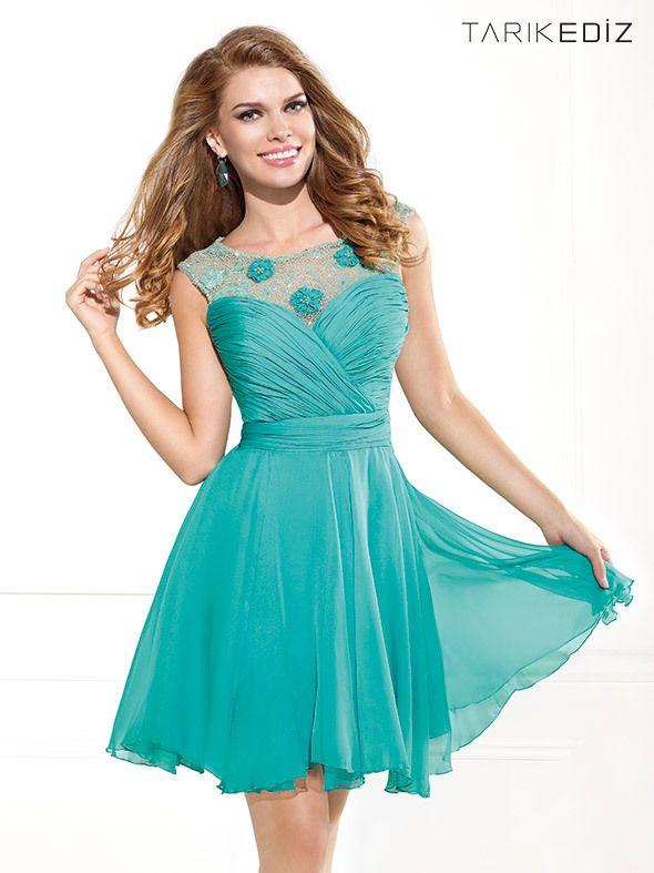 vestido-de-coctel-verde.jpg (590×787)