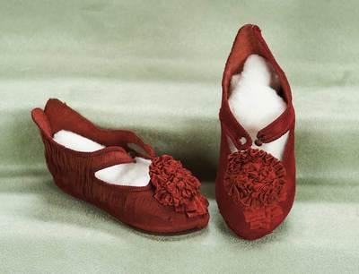 silk shoes for bebe jumeau