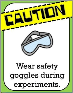 The Science Diva: CAUTION! freebies! - science lab safety posters to print