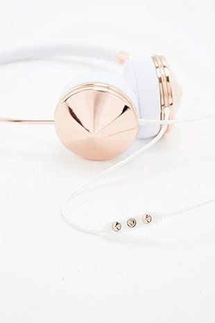 Frends Layla Headphones in Rose Gold