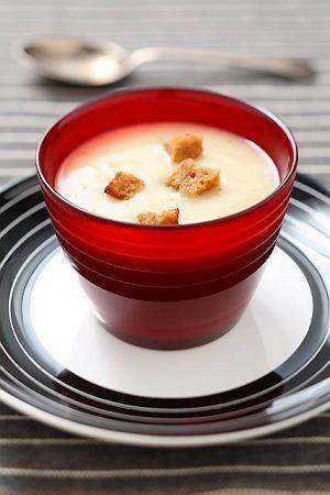 CREMA DI PATATE ALLA GRAPPA (Zupa krem z ziemniaków z Grappą)