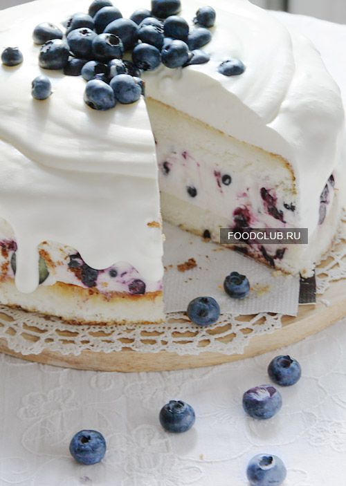 Торт-суфле с ягодами