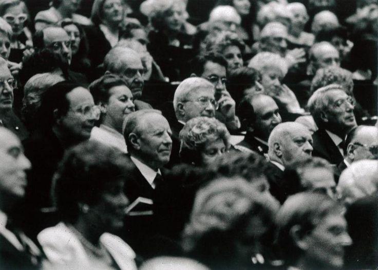 Il Presidente della Repubblica, Carlo Azeglio Ciampi, assiste al concerto di Uto Ughi, 22 maggio 2000 — Foto di Patrizia Lanna