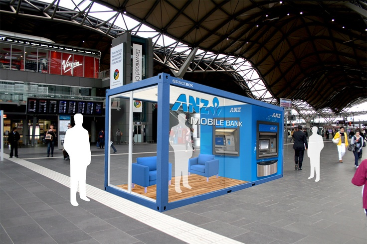 ANZ Popup Bank: Anz Popup, Popup Banks, Products Design, Popup Stores