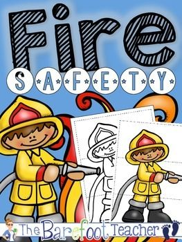 Fire Safety Puzzles FREEBIE! Perfect addition to your fire safety unit.