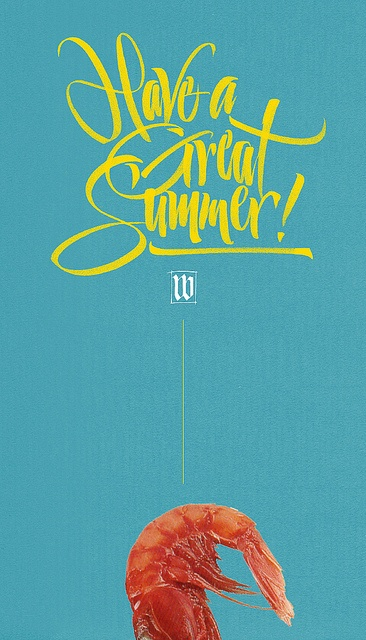 Have a Great Summer! by Luca Barcellona - Calligraphy & Lettering Arts, via Flickr