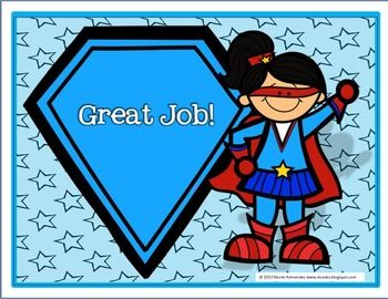 SUPERHERO BEHAVIOR CLIP CHART SYSTEM- (VERSION 1) FREE! FREE! FREE! - TeachersPayTeachers.com