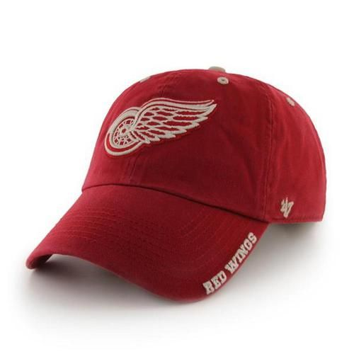 Detroit Red Wings Men's Hat '47 Brand Ice Adjustable Cap