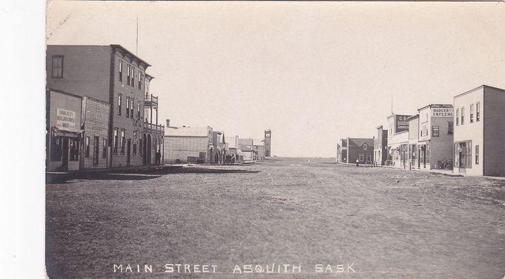 RP; Main Street , ASQUITH , Saskatchewan , Canada , 00-10s